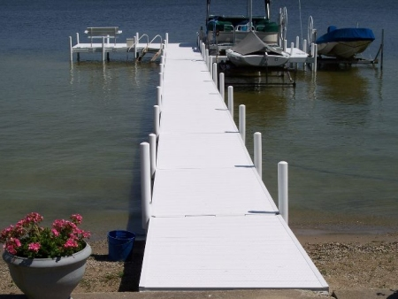 Pier with Post Covers