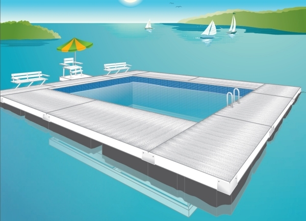Swim Enclosure - Solid Decking