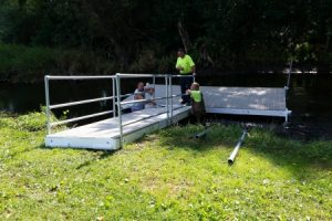 Village Dock Installation