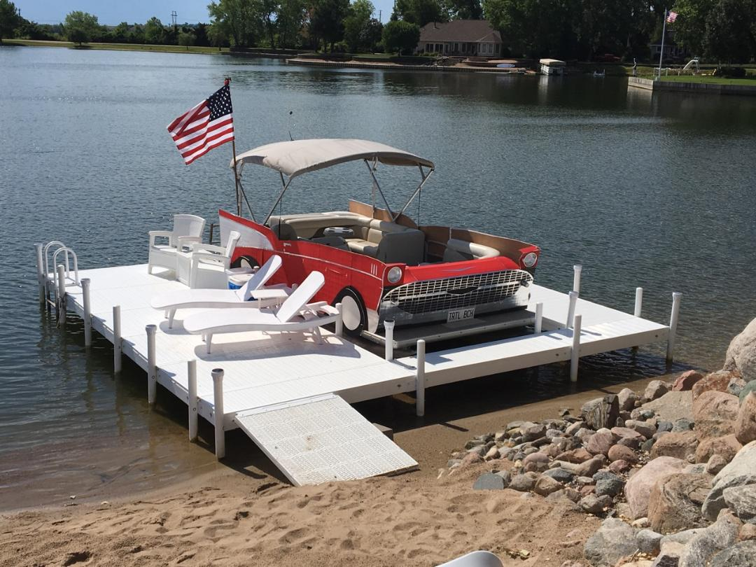 July Boat Dock