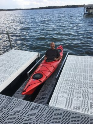 PaddleSafe Kayak Launch Dock
